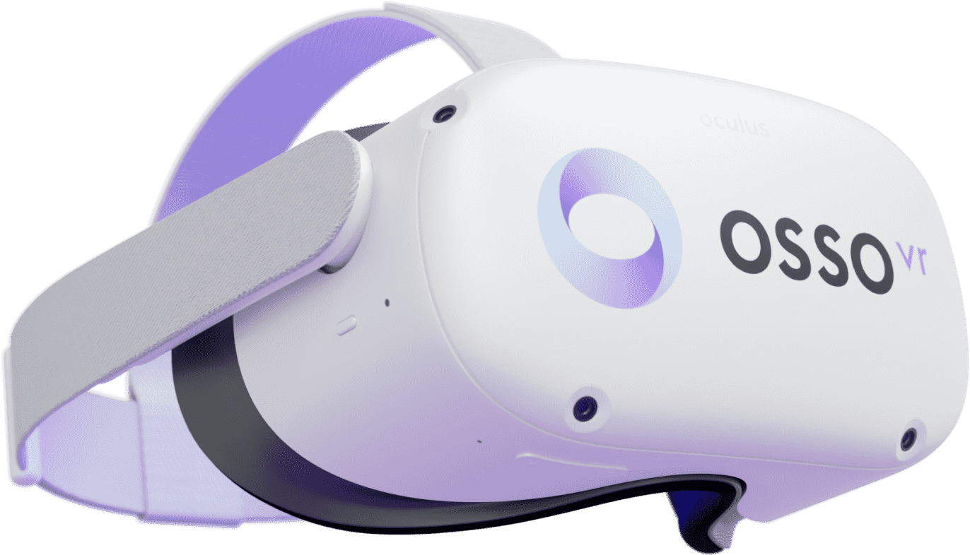 Osso branded Oculus Quest 2 VR headset