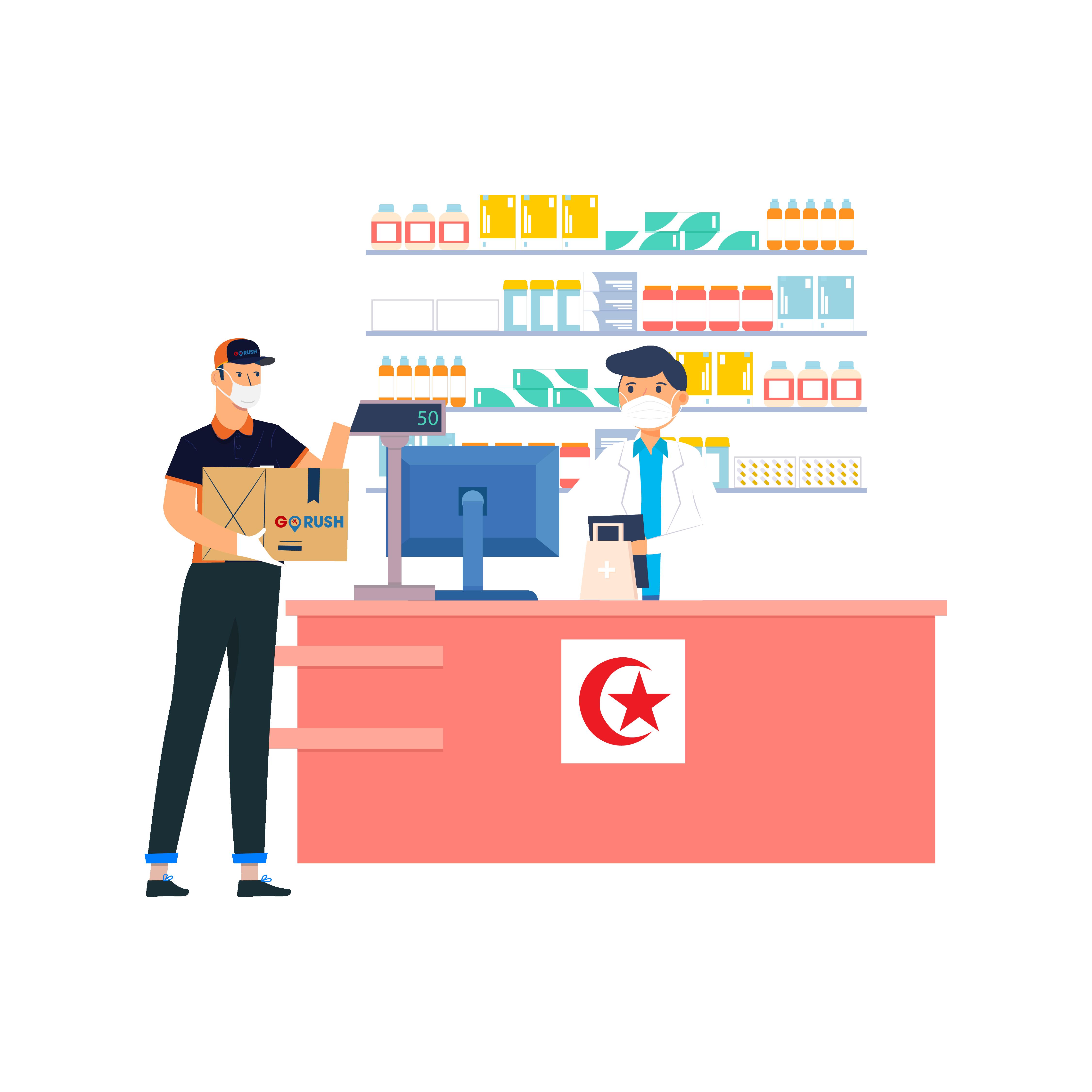 gorush-pharmacy delivery