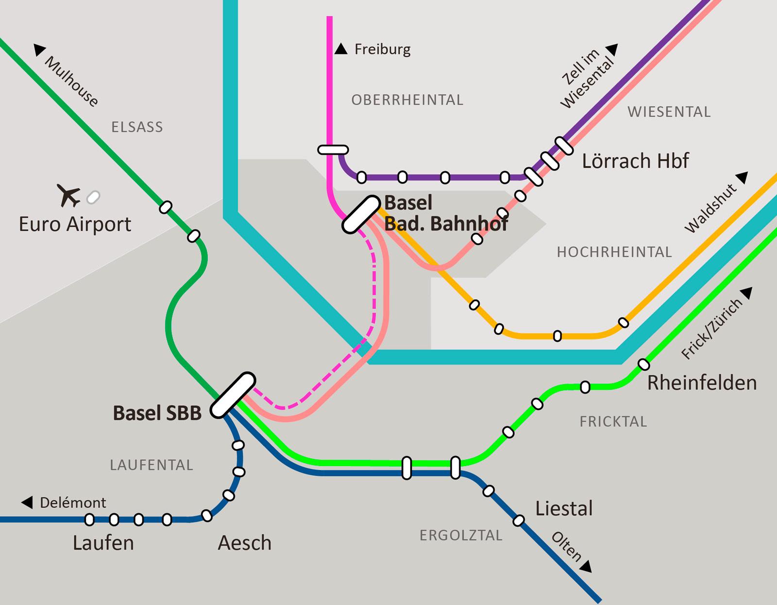 S-Bahn Angebotskonzept heute