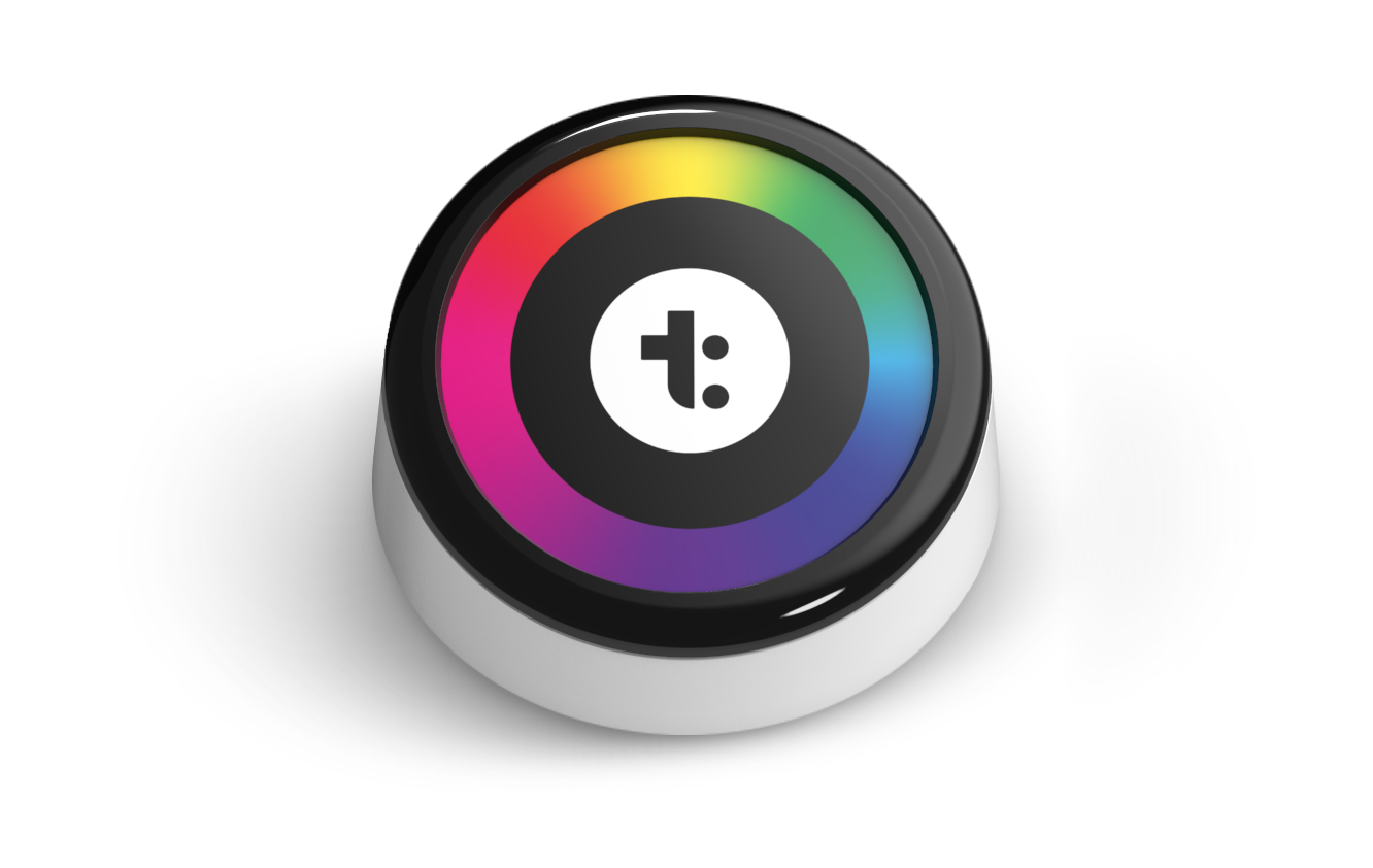 TimeChi device that sits on your desktop to help you focus by blocking out digital distractions and physical interruptions. Focus better at work through deep work.