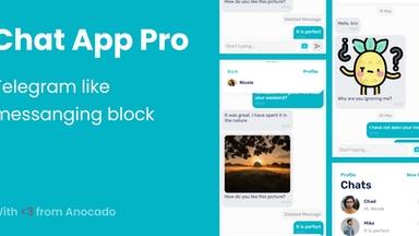 Chat App / Messaging Block