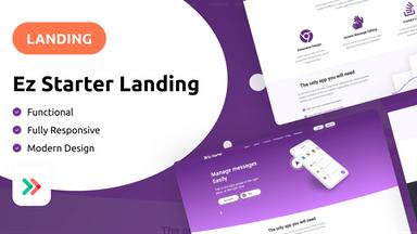 Ez Starter - Landing Page