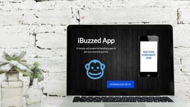 App Launch Landing Page