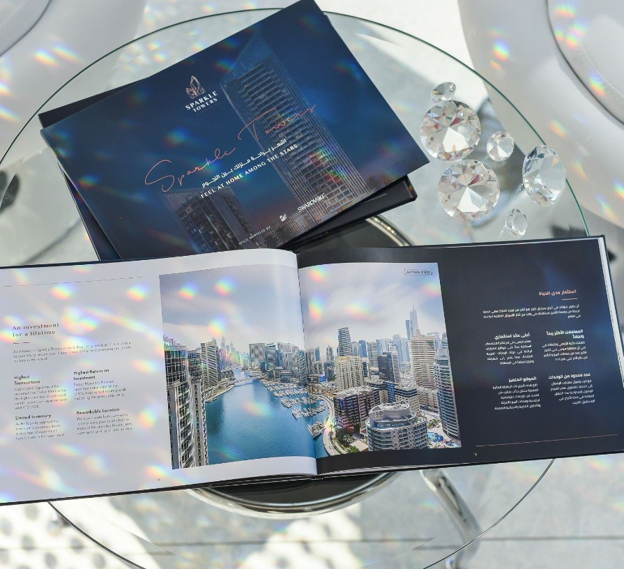 The Sparkle Towers brochure