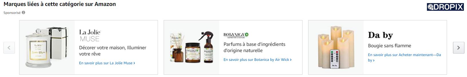 produits similaires suggestions produits marque dropshipping dropix