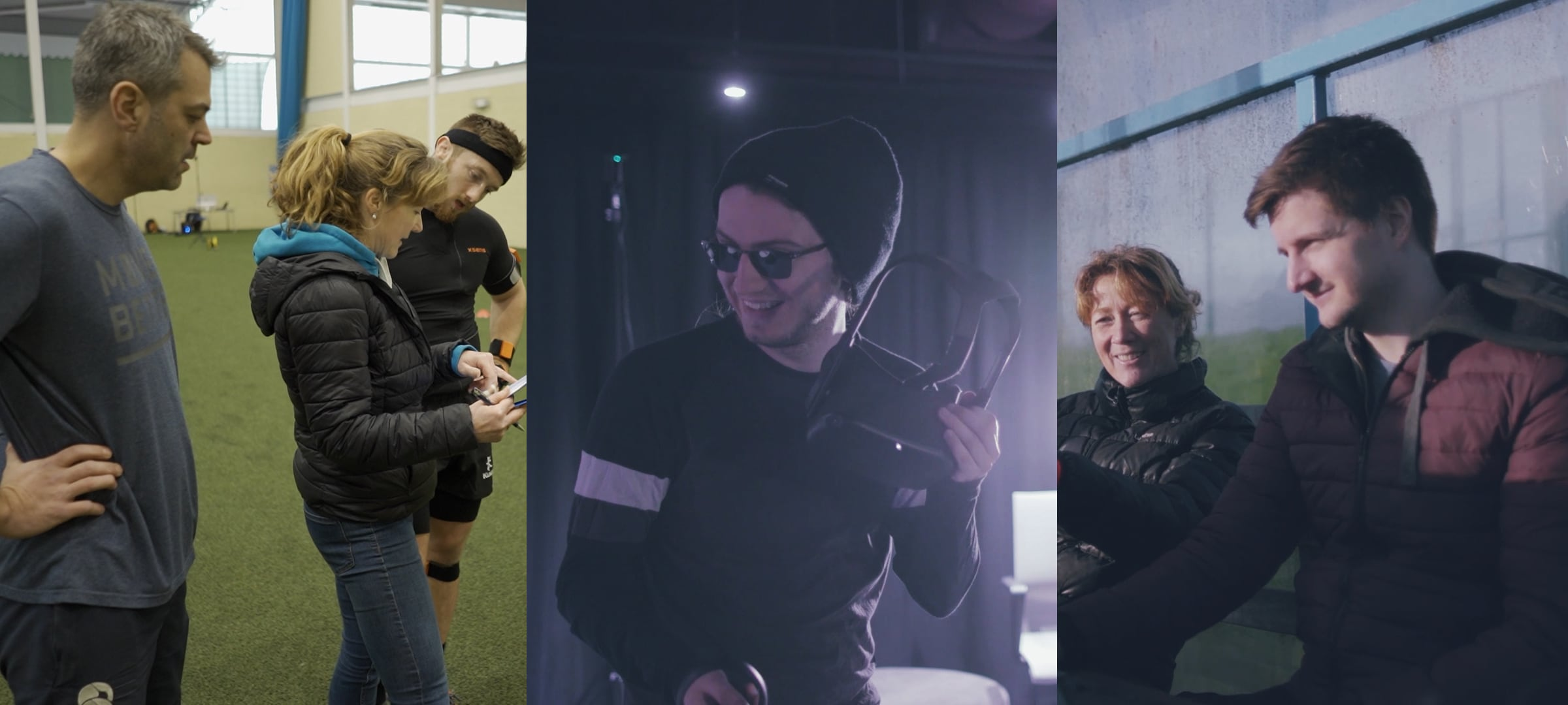 INCISIV team photo in different locations