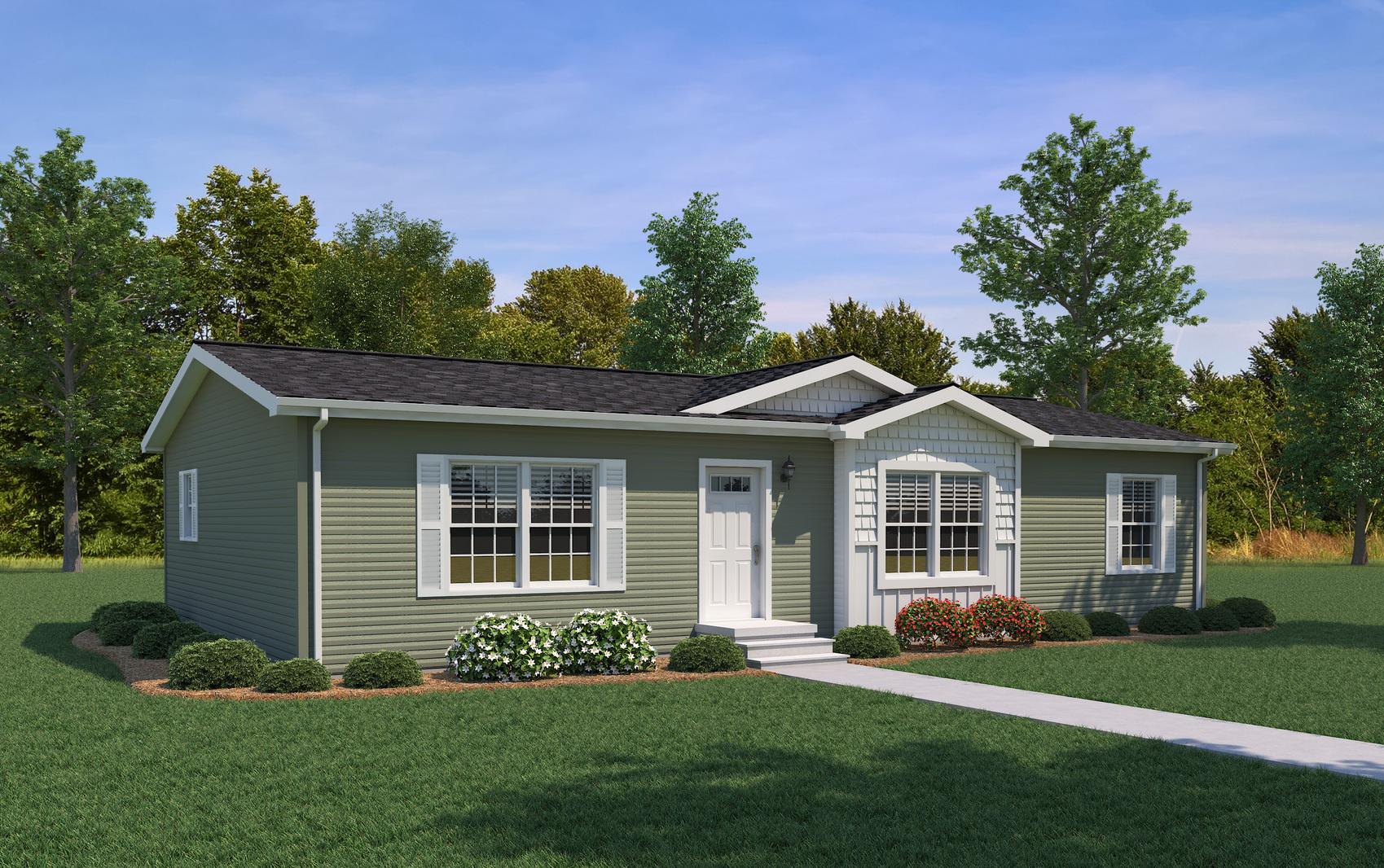 Woodsman home rendering