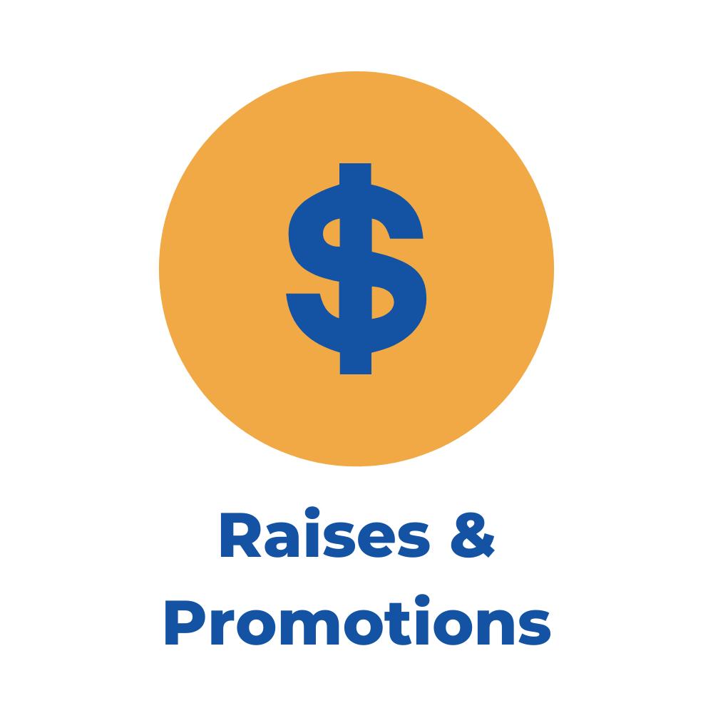raises & promotions