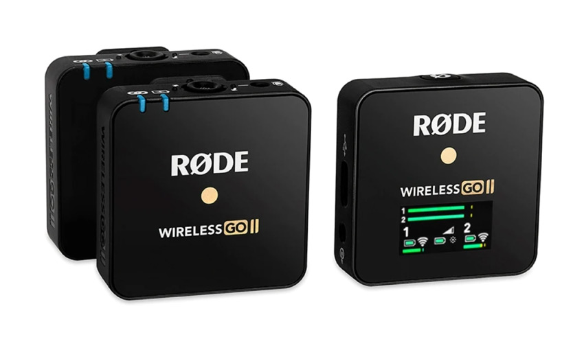 best microphones for live streaming - rode wireless go