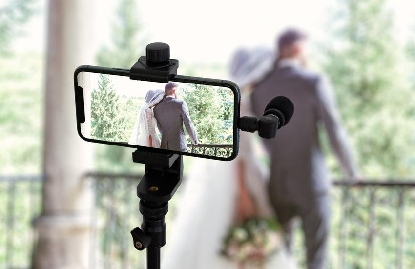 live streaming setup for weddings