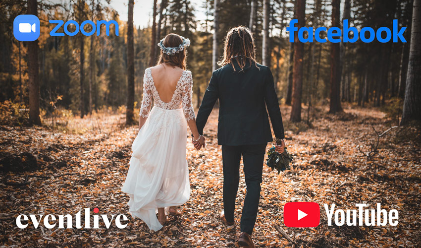 live streaming platforms for weddings