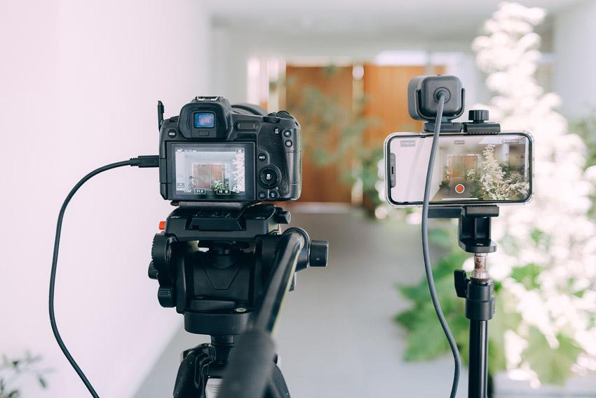 camera vs webcam vs iphone