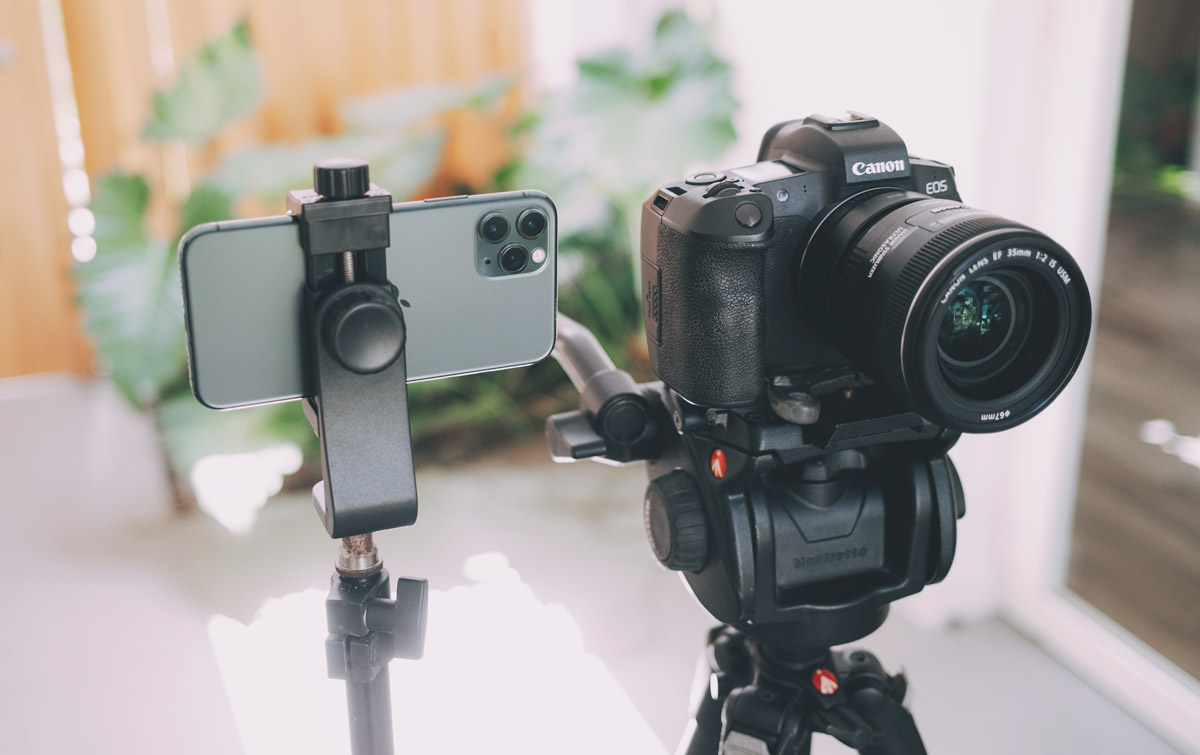 Do you need a camera to live stream a wedding?