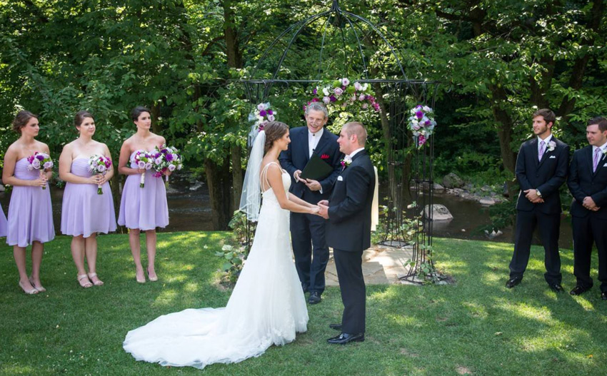 live streaming a wedding ceremony