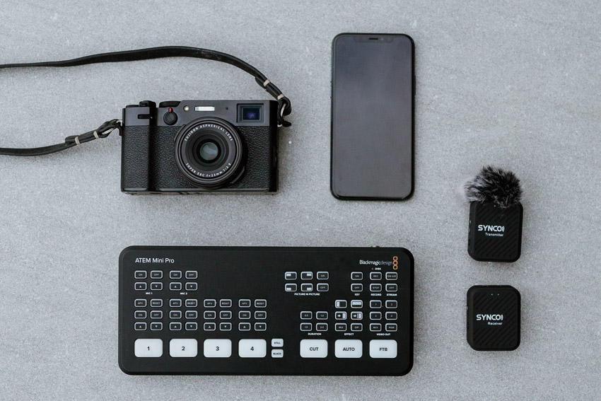 live streaming gear
