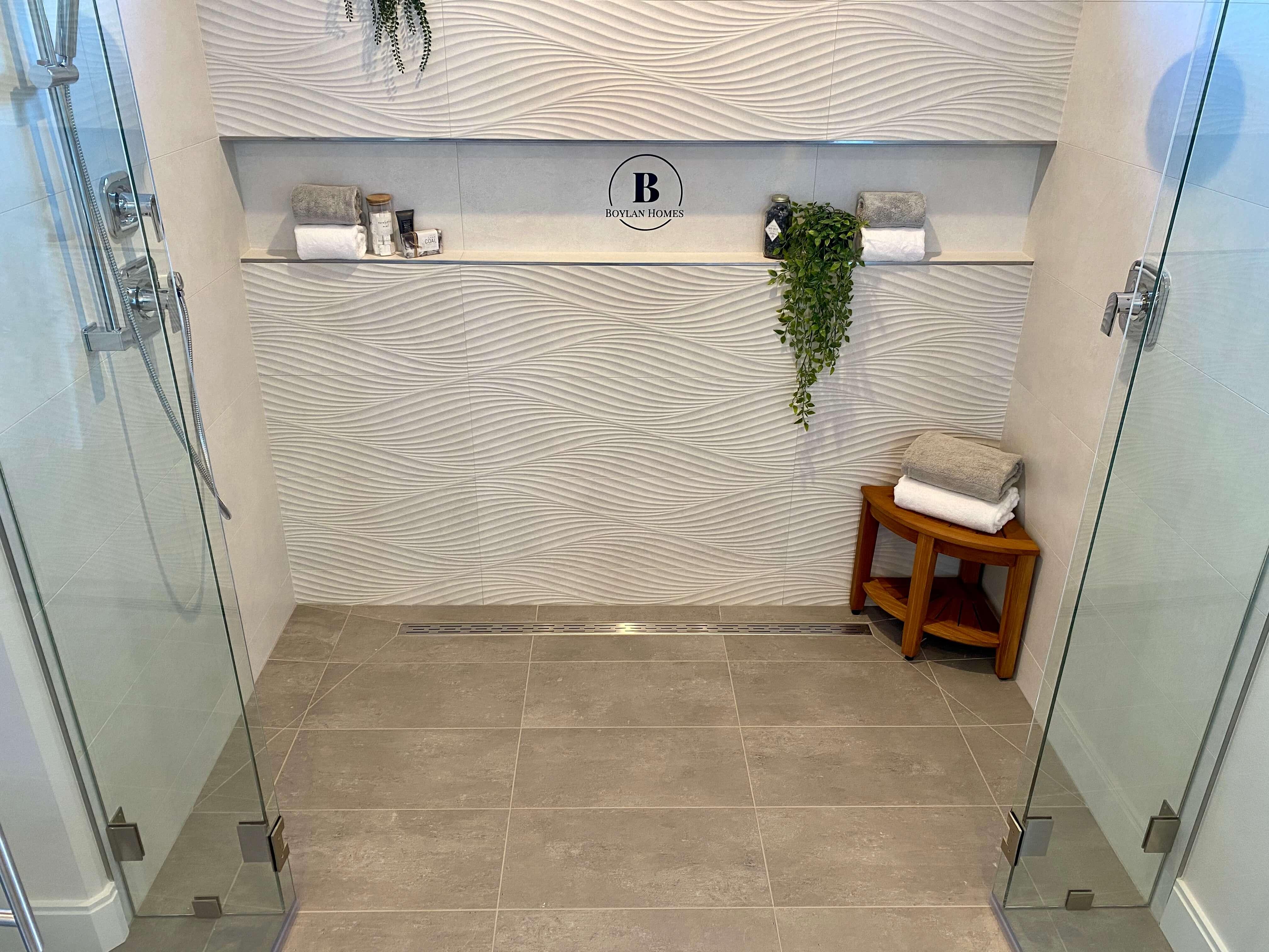 Tile Shower