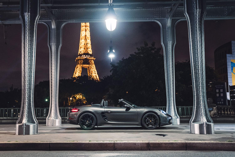 Porsche Boxster Paris