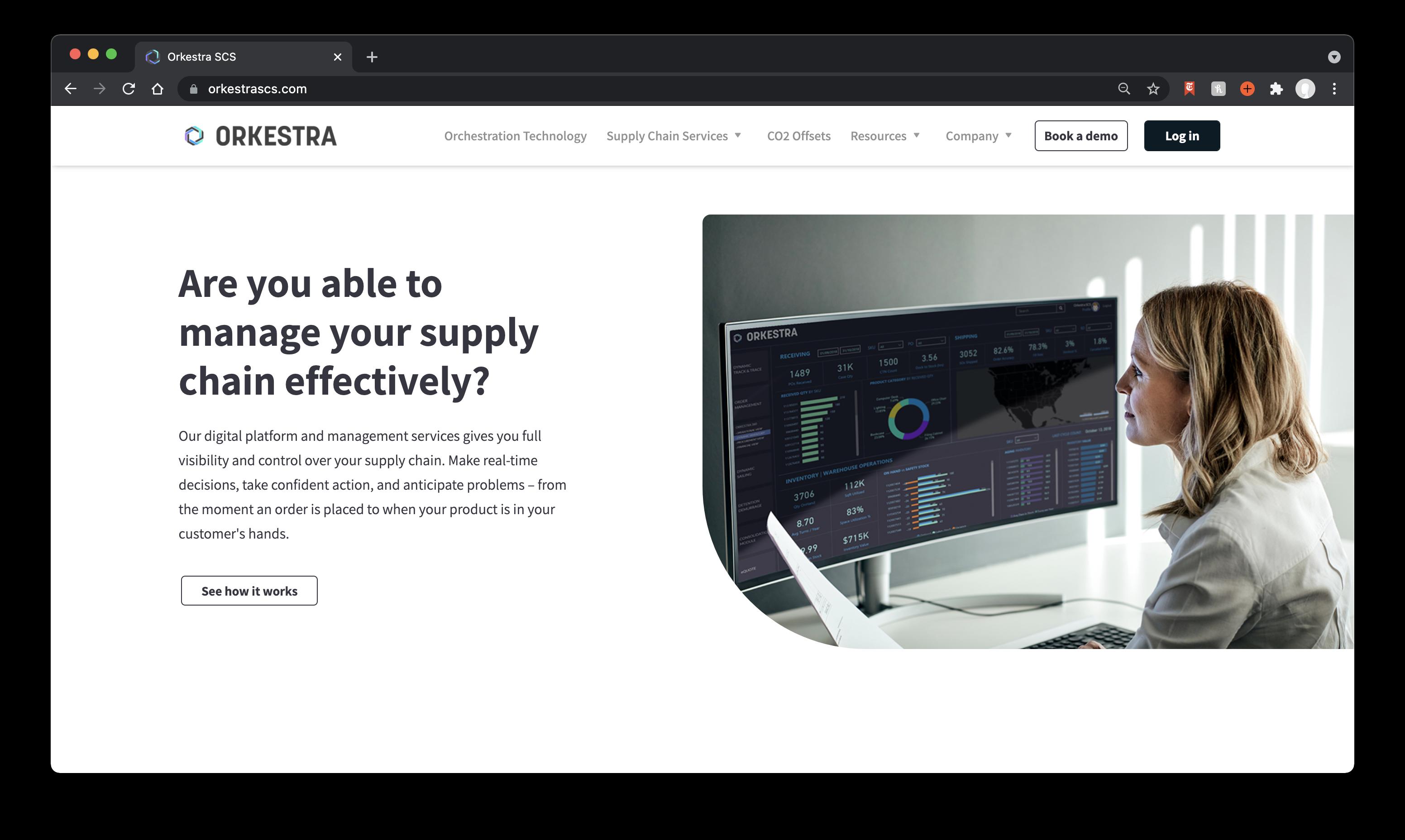 Orkestra SCS Website