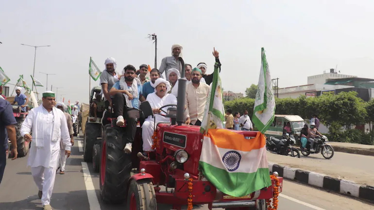 Farmers on route to Delhi to protest against 3 Farm Laws, India Today