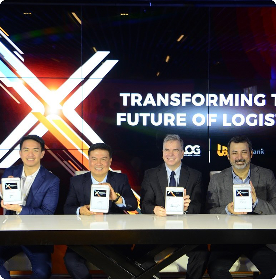 XLOG and UnionBank Contract Signing