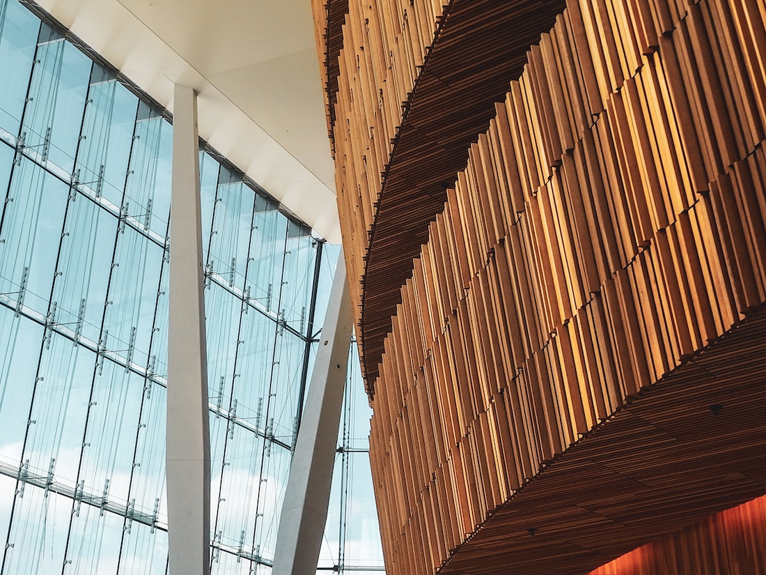 Wood Inside Building