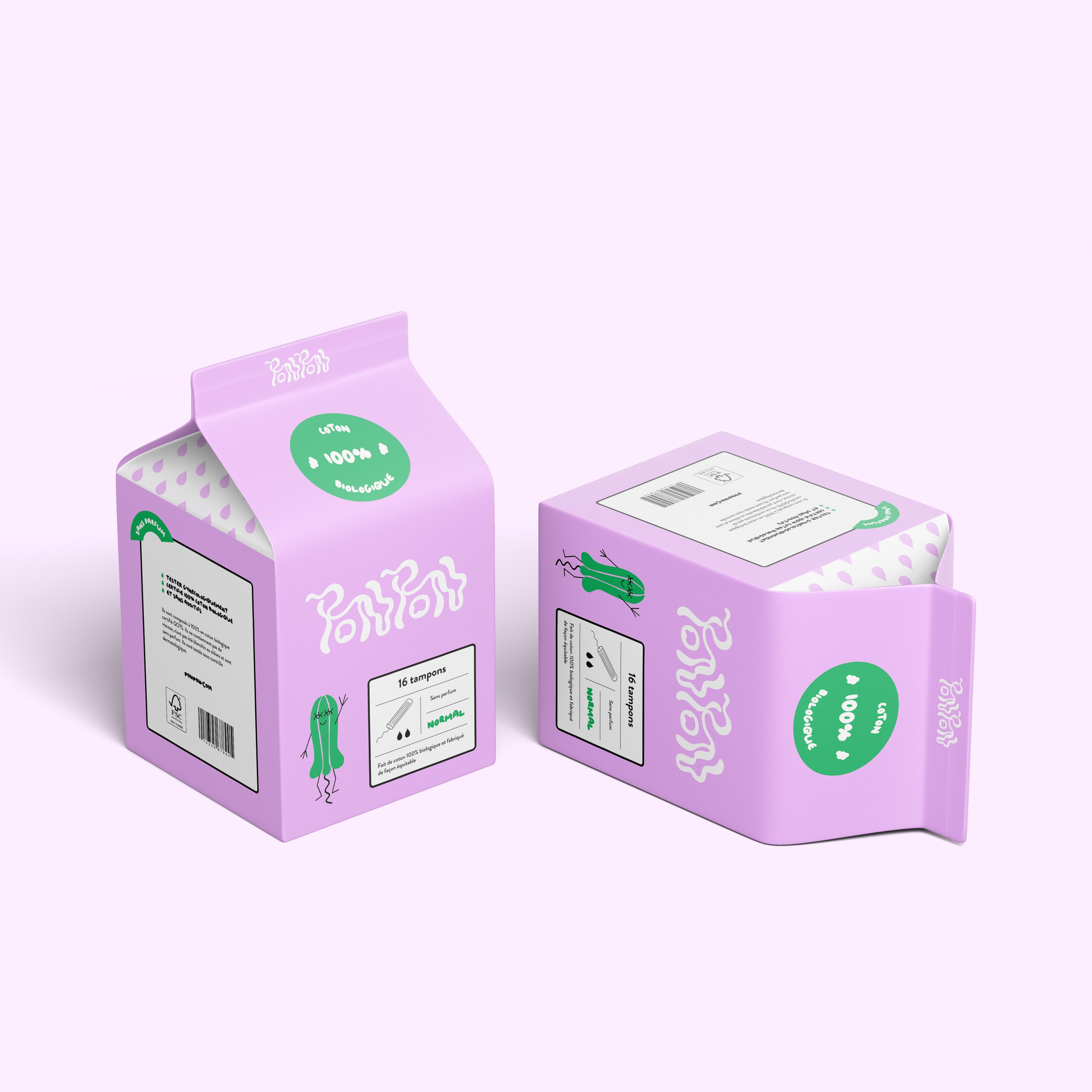 """Packaging de l'identité visuelle """"Ponpon"""""""