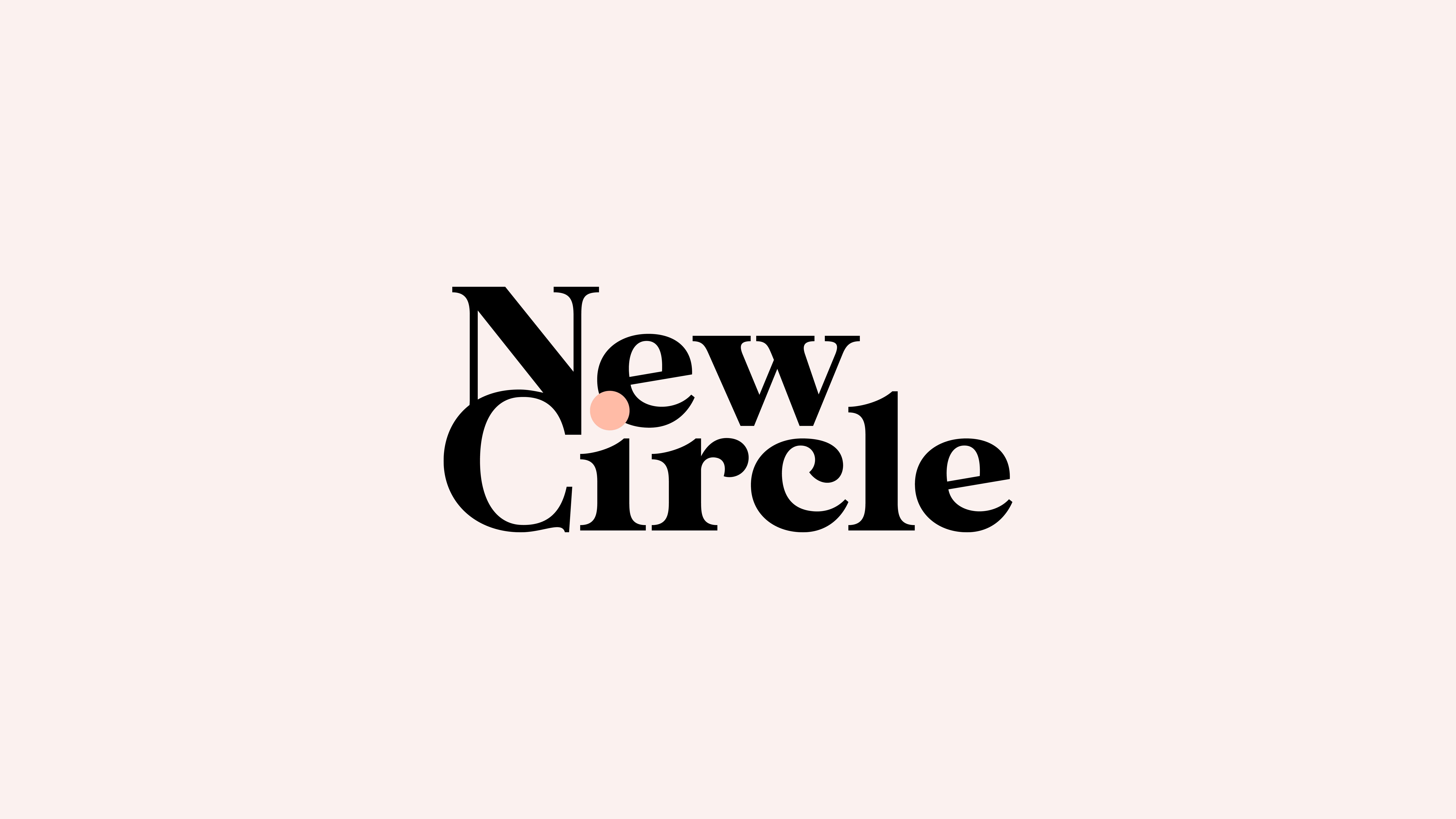 Logo de l'identité visuelle New Circle