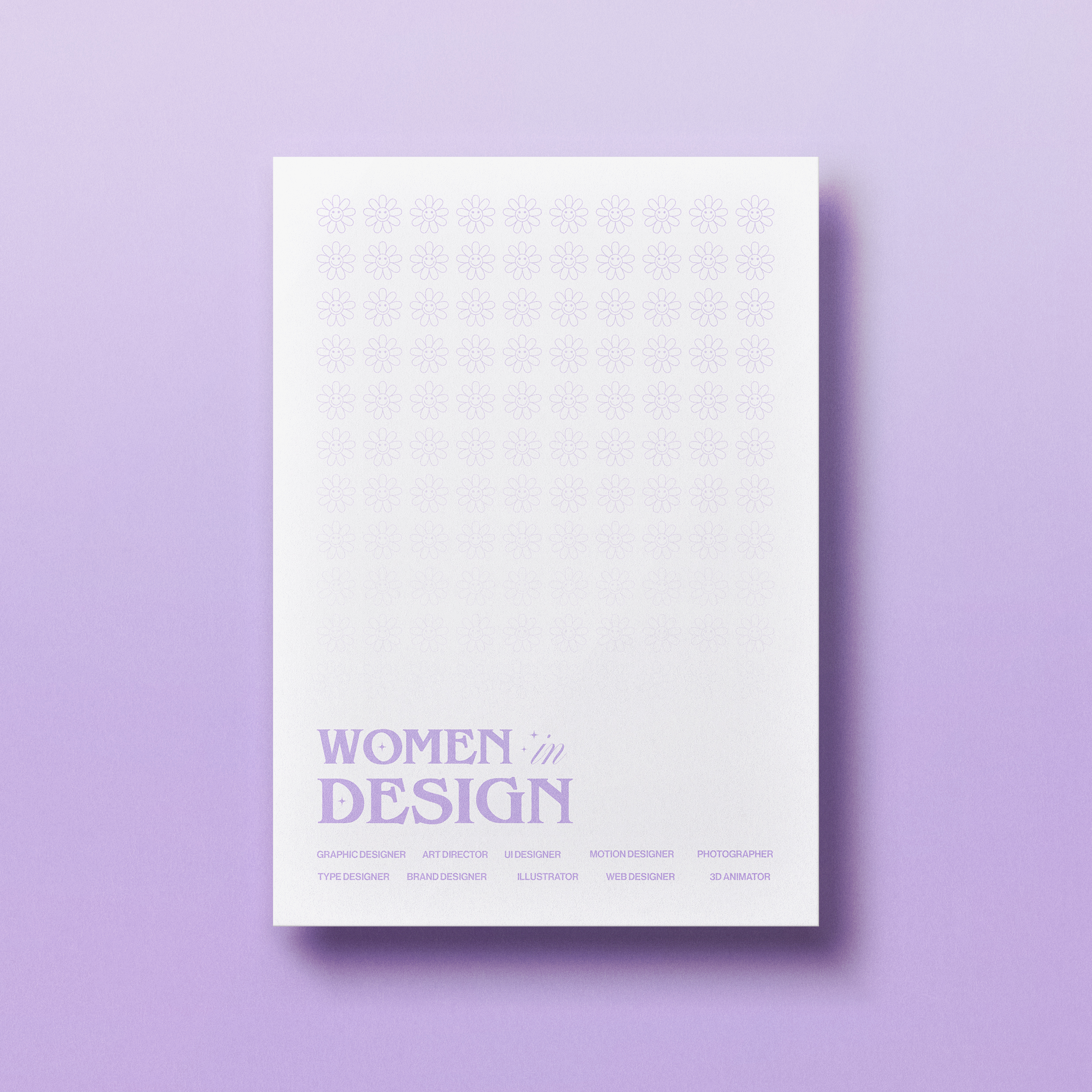 """Poster pour """"Women in Design"""""""