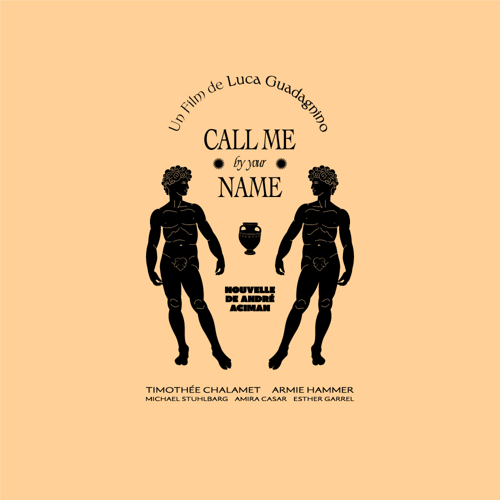 """Logo design pour le film """"Call me by your name"""""""