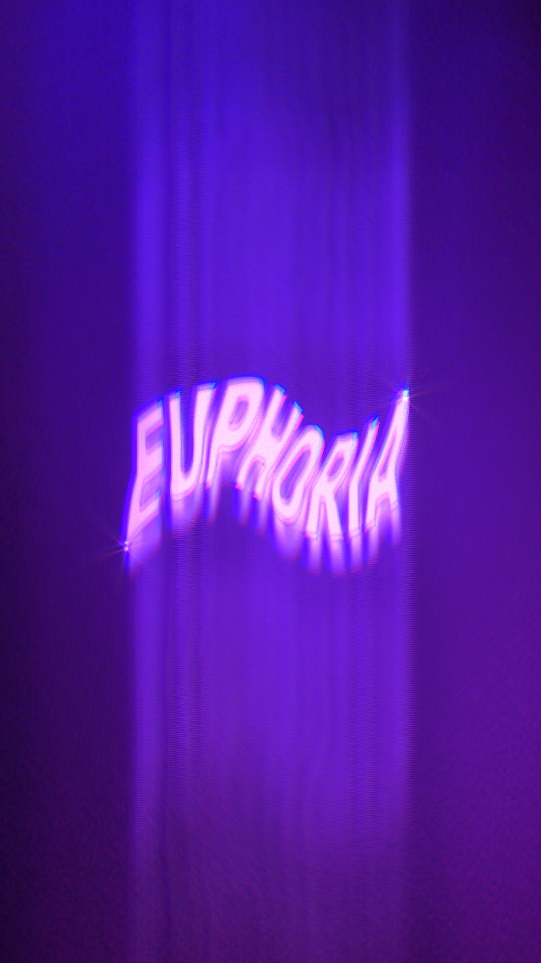 """Logo design pour la série """"Euphoria"""""""