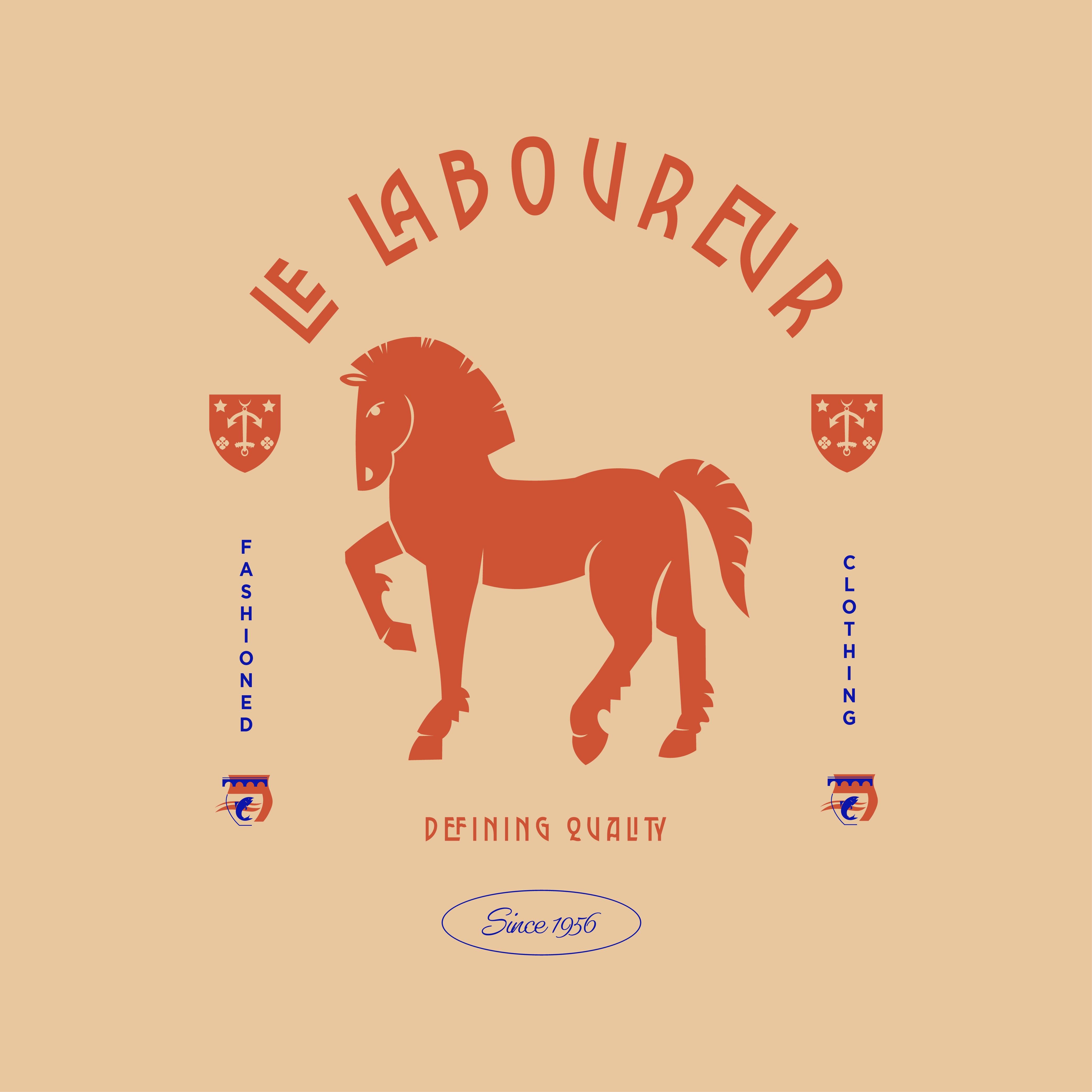 """Logo design """"Le laboureur"""""""