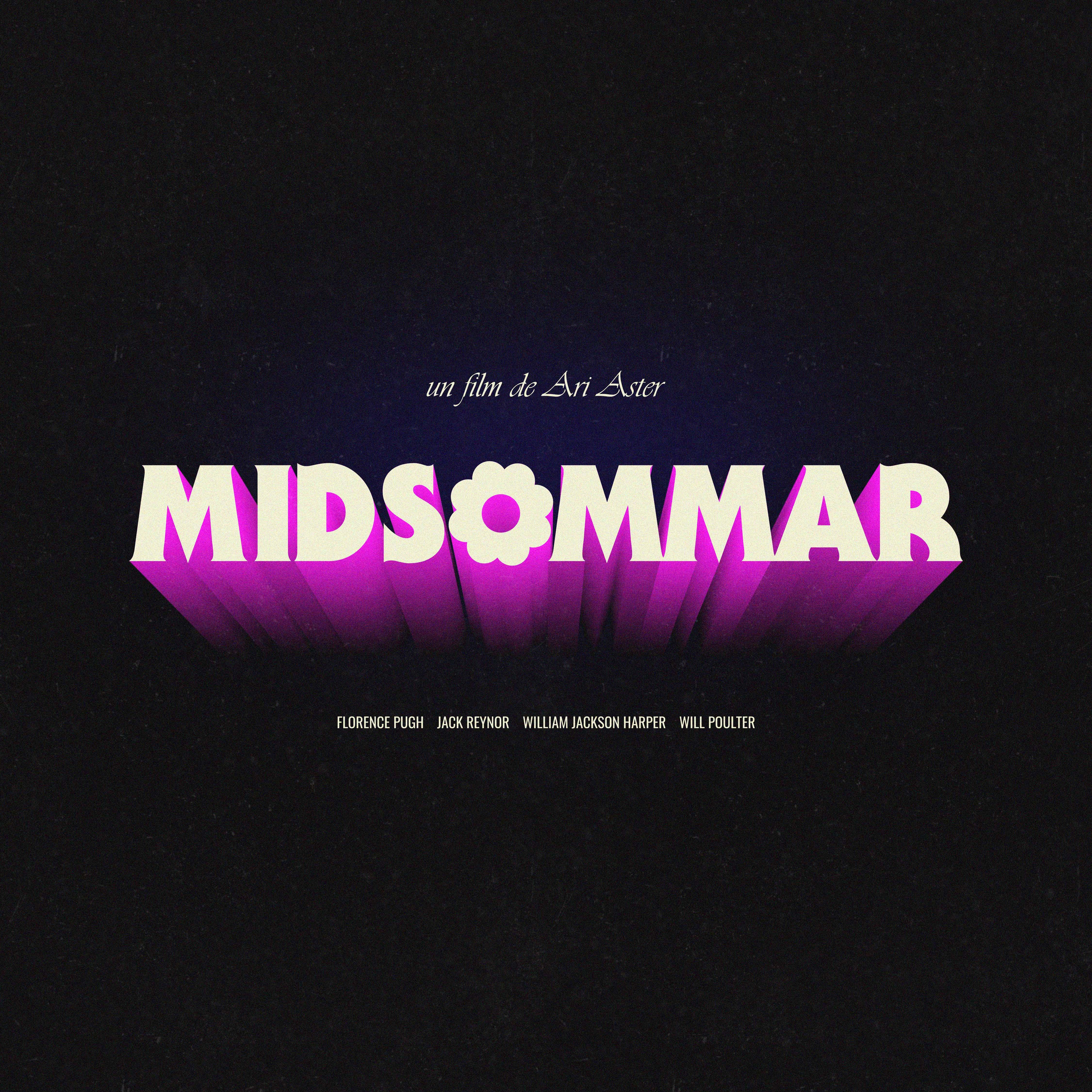 """Logo design pour le film """"Midsommar"""""""