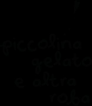 Piccolina black and white logo