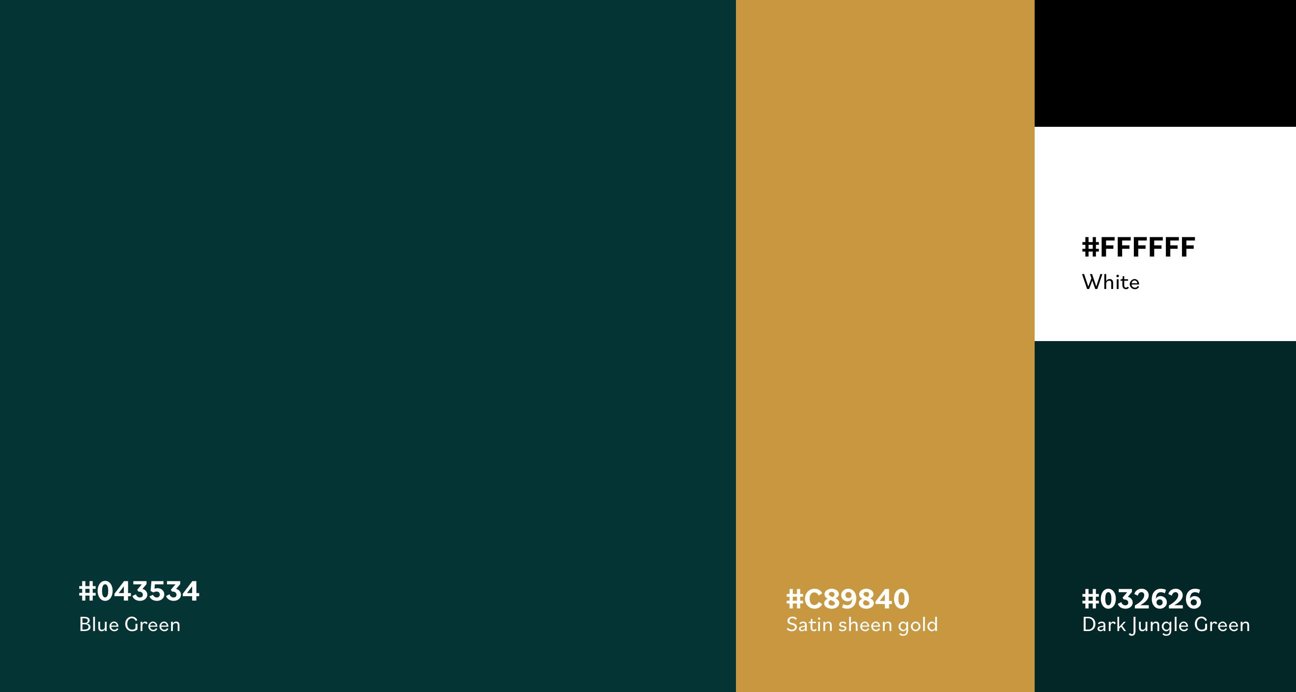 Color scheme of La Sobremesa brand
