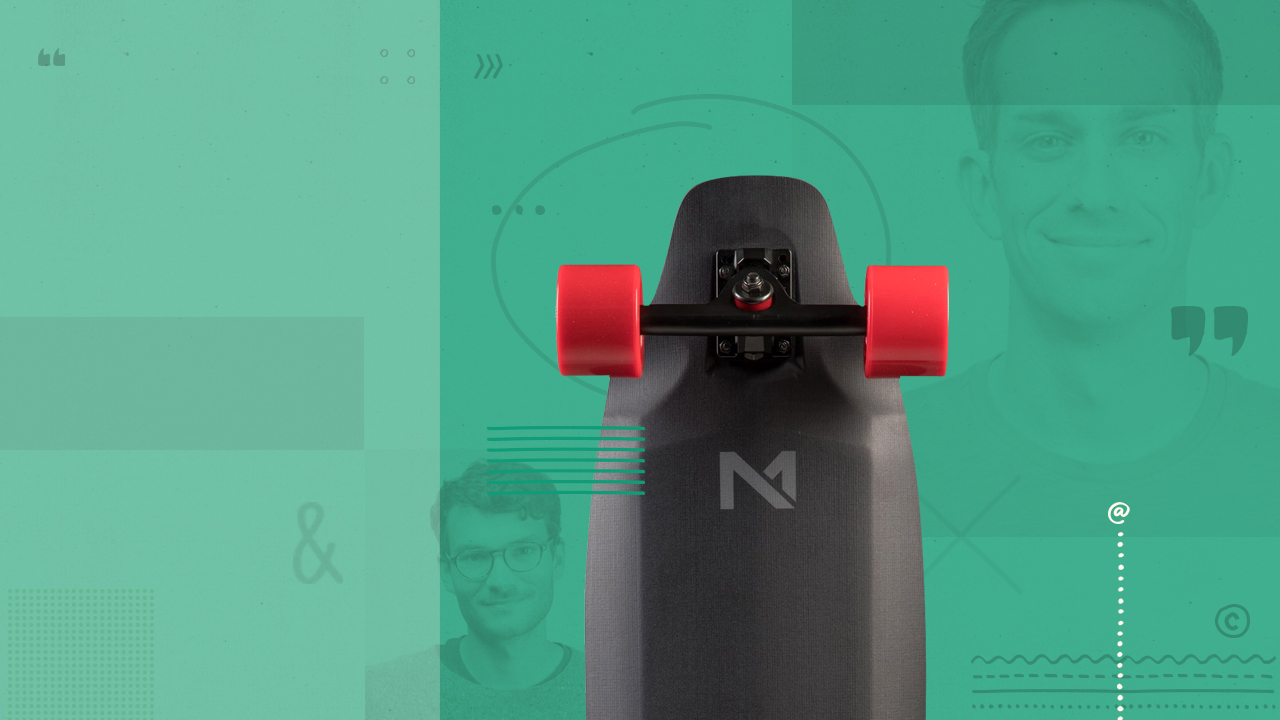 A Kickstarter campaign that resulted in disrupting the entire e-skateboard industry with patented game-changing technology.