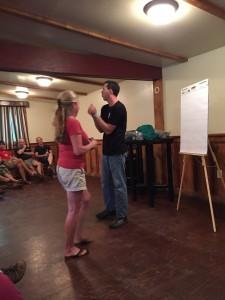 Jason Hanson teaching kidnap escape tactics