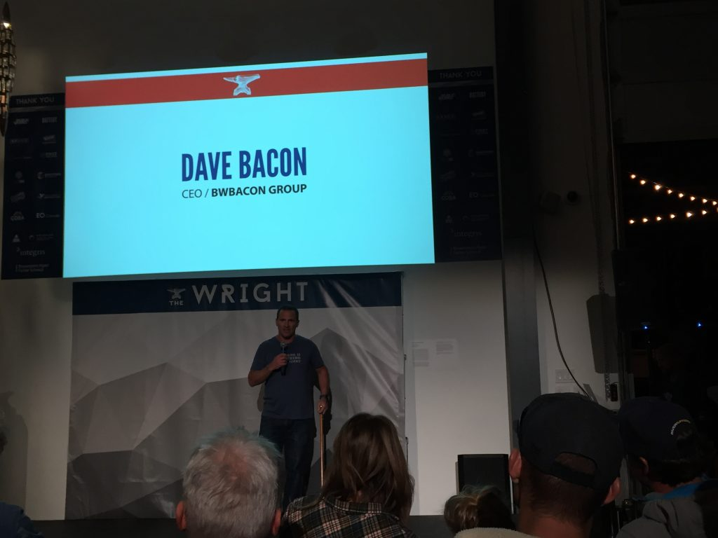 The Wright - Emcee Dave Bacon