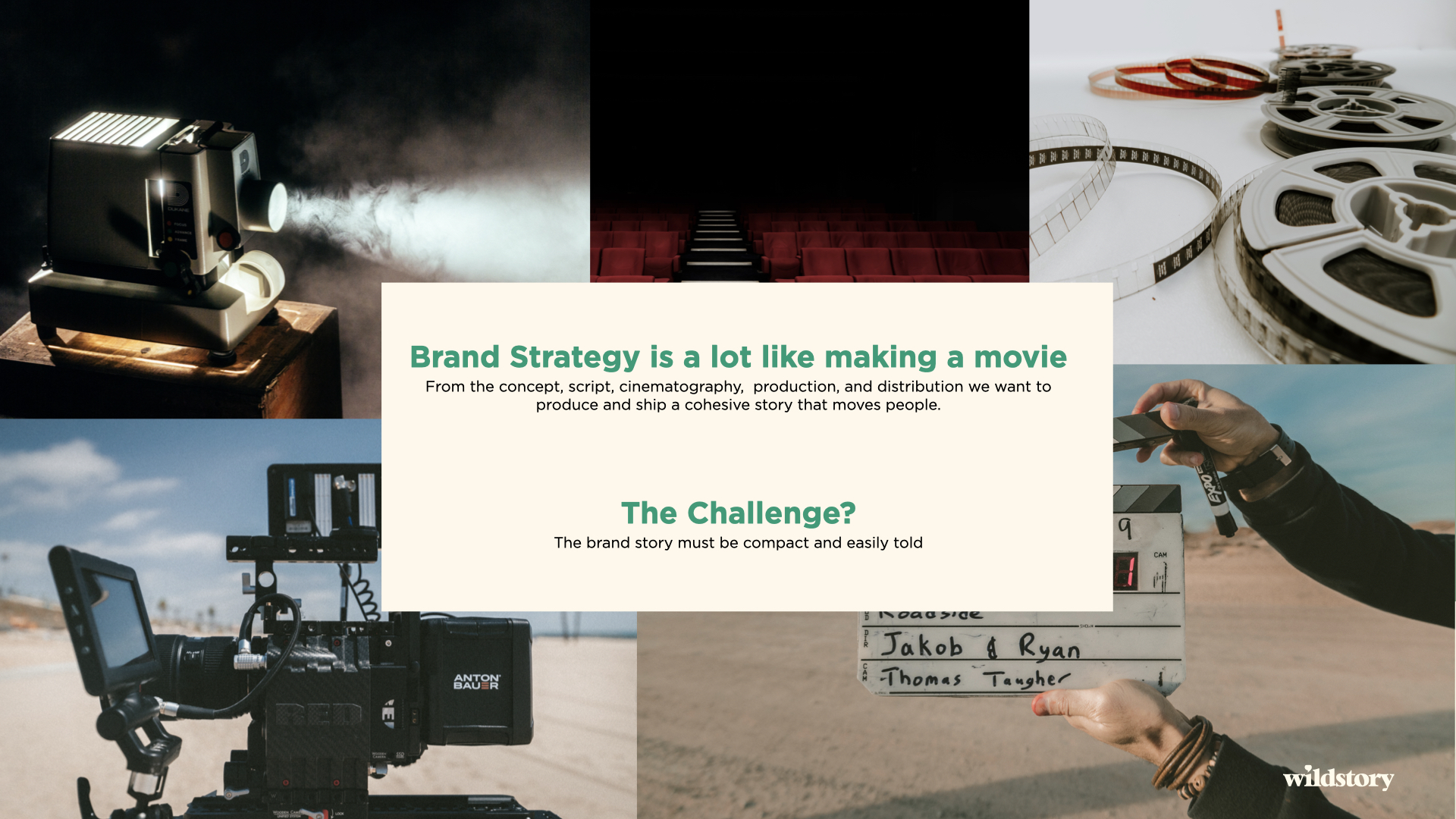 Brand Strategy is Like Making a Movie