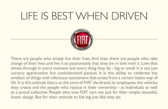 Life is Best when Driven.