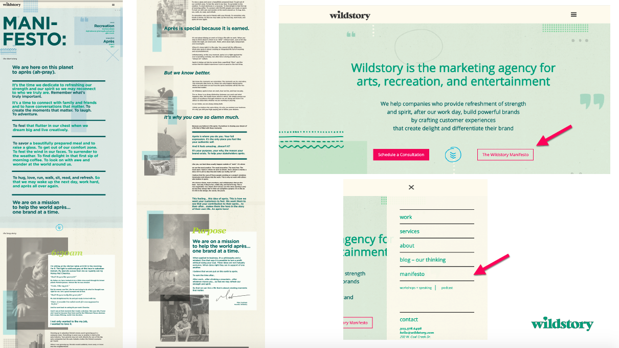 Wildstory Page
