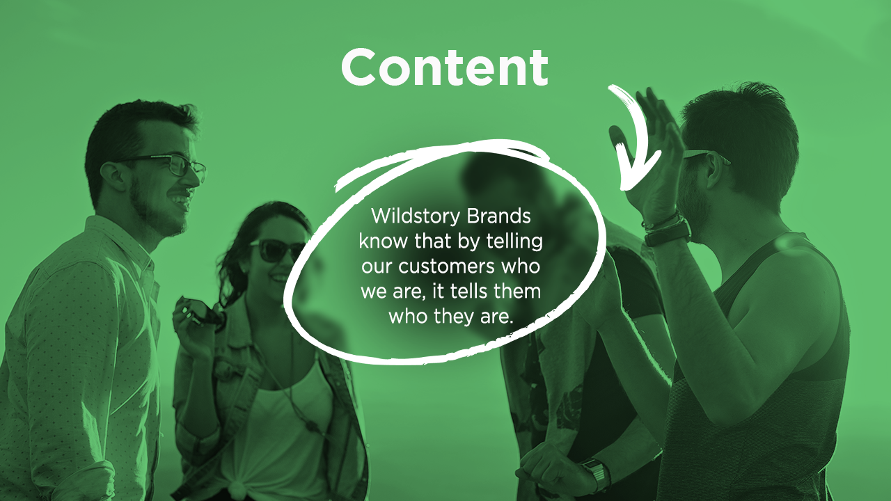 Wildstory Brands know that by telling our customers who we are it tells them who they are.