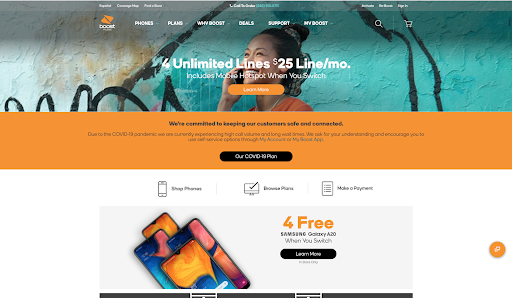 Boost Home Page