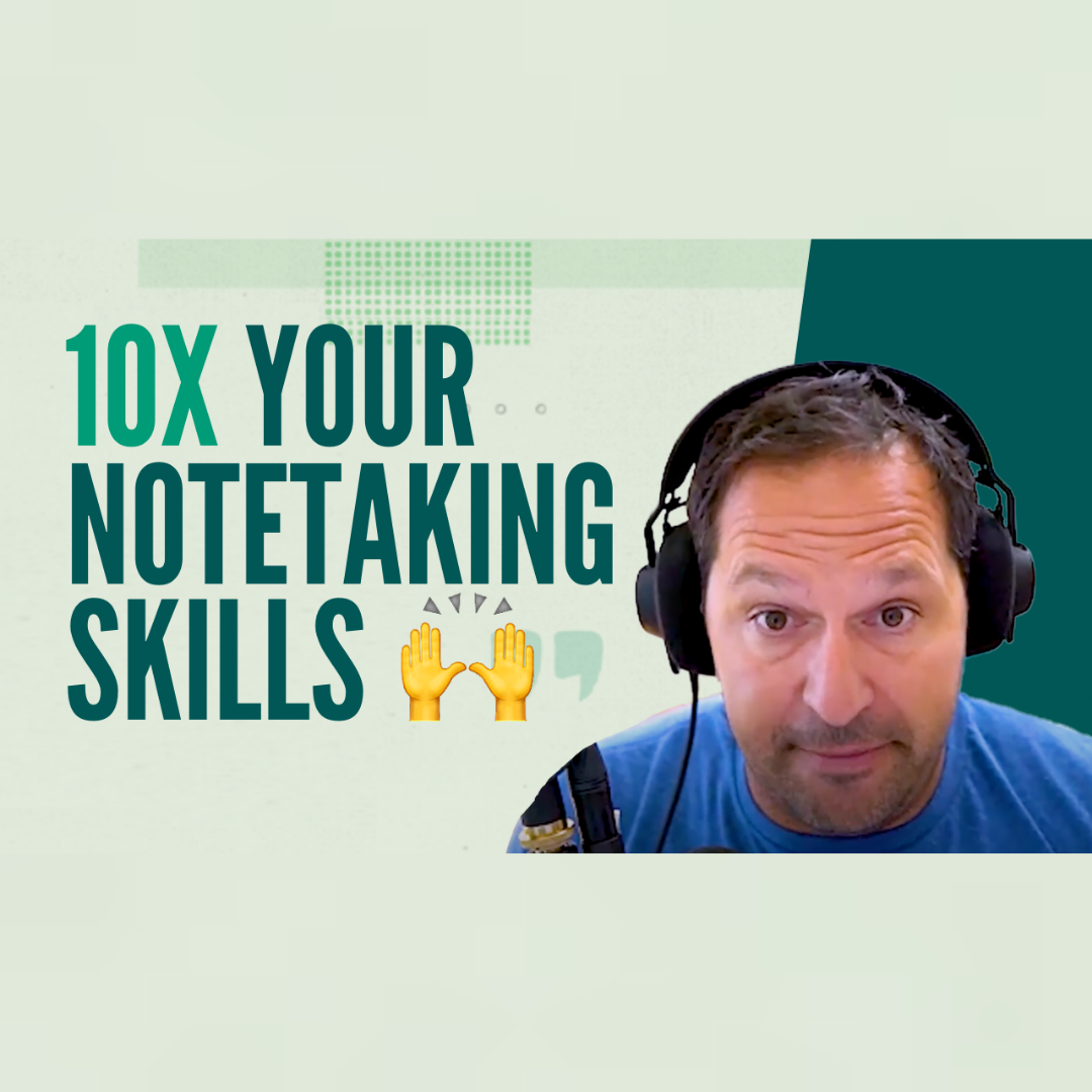 10x Your Notetaking With Sketchnoting