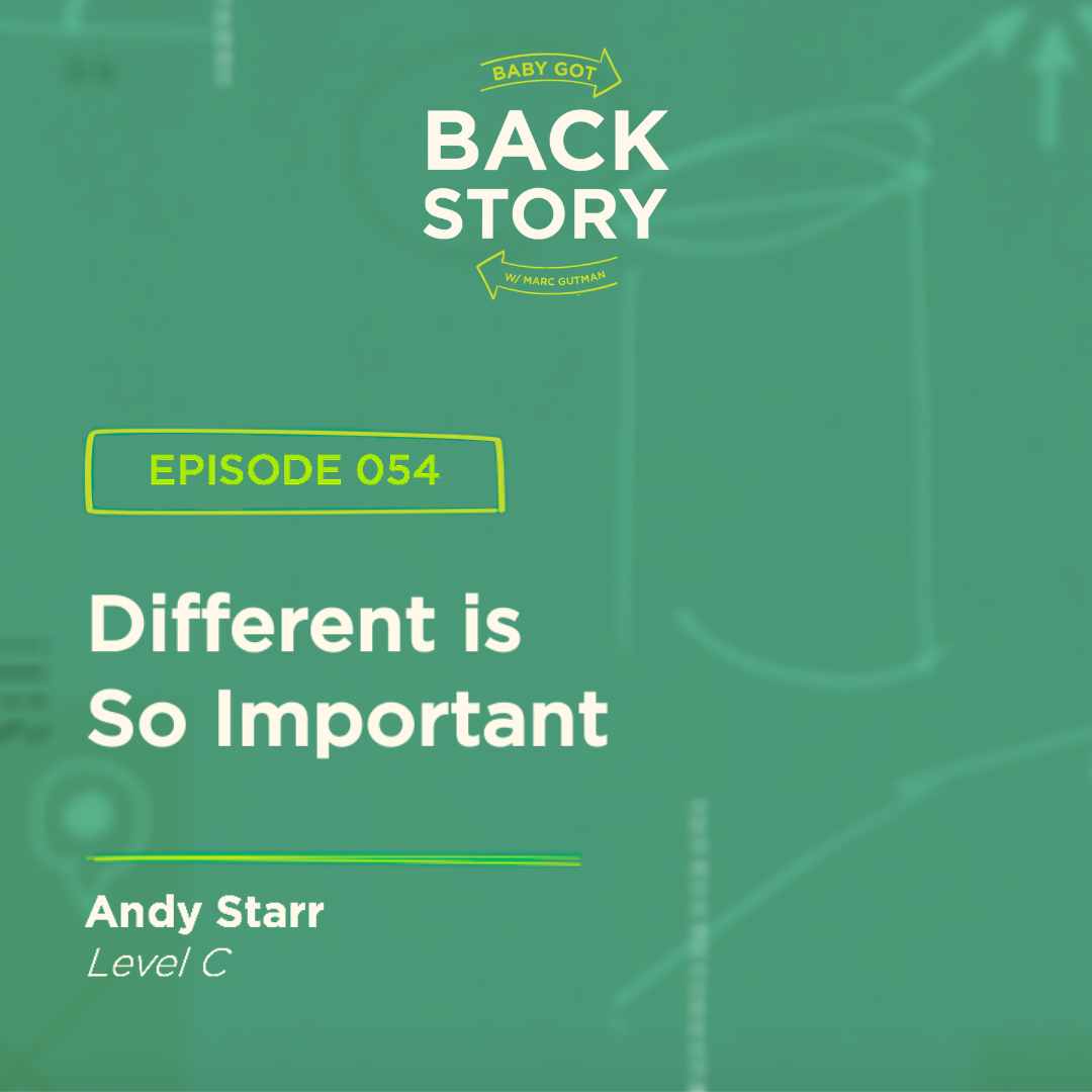 BGBS 054: Andy Starr | Level C | Different Is So Important