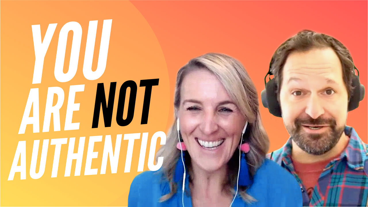 Personal Branding Masterclass: We Are NOT Authentic.