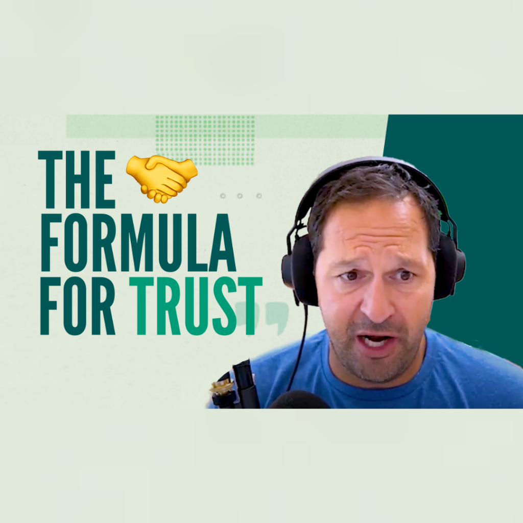 What Is the Formula for Trust?