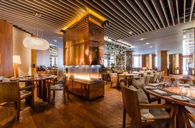 Maison Boulud in Ritz Carlton Montreal dining room