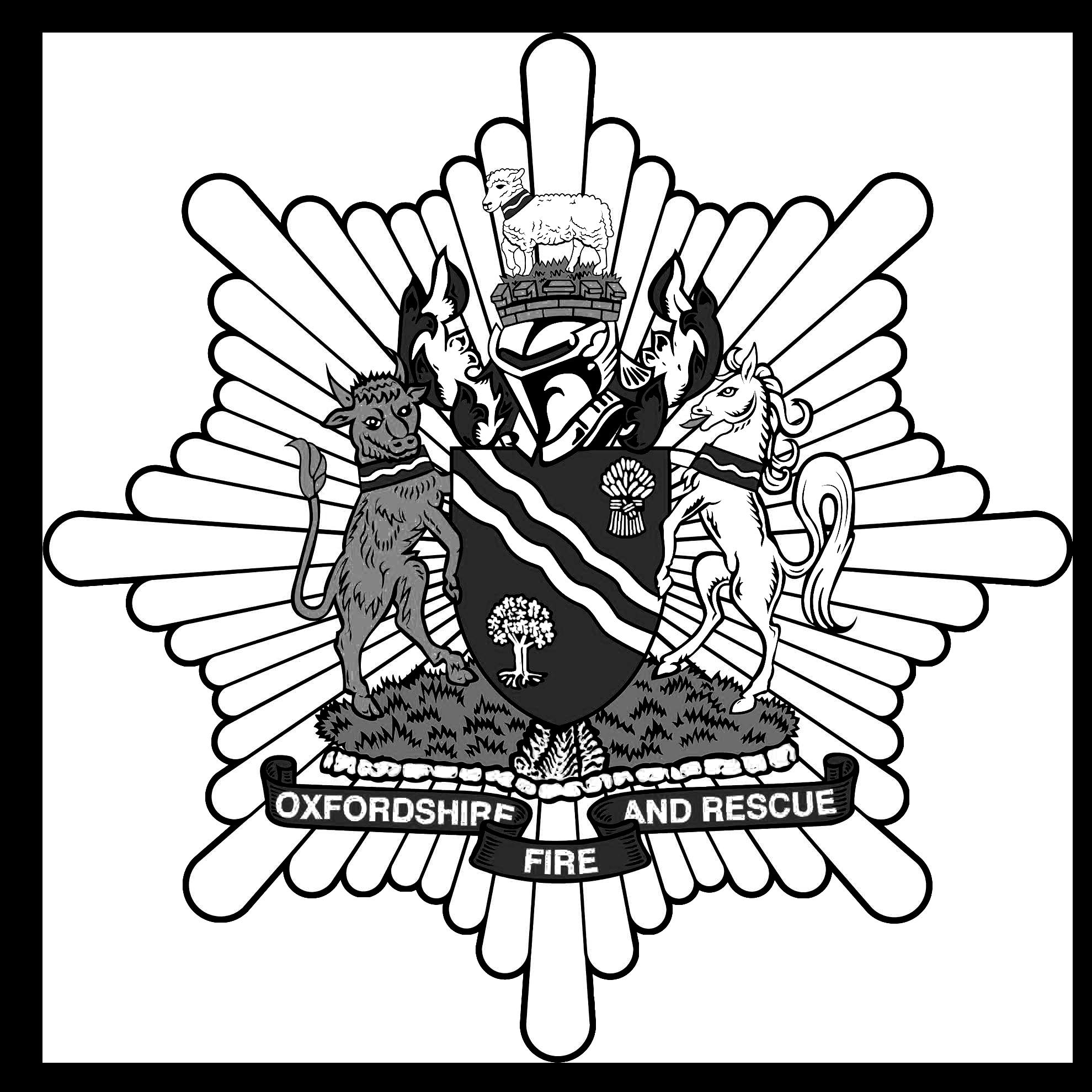 Oxfordshire Fire & Rescue Logo