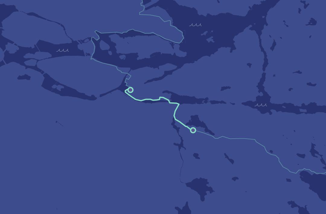 Karta över Brunnsviken