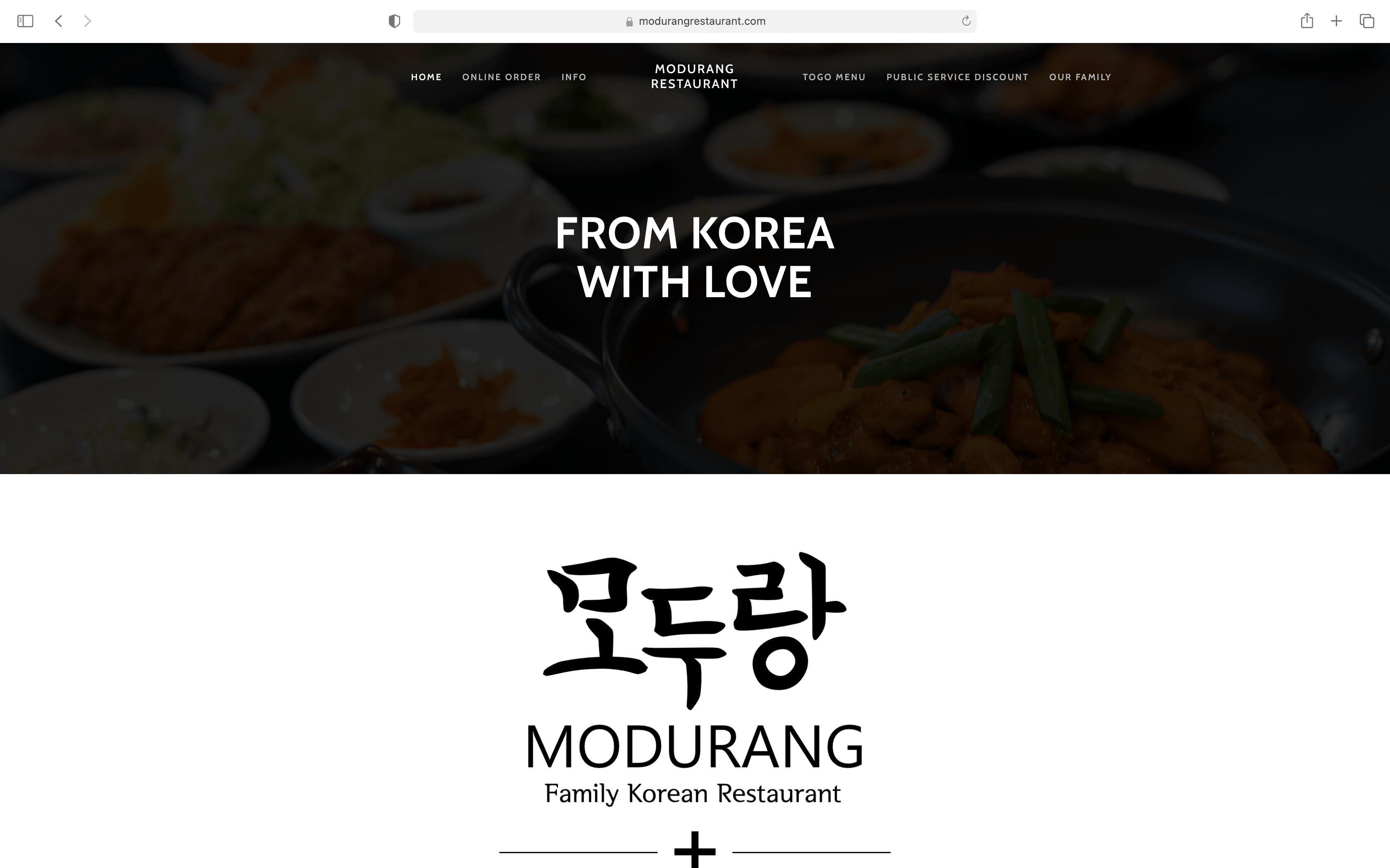 modurang sacramento korean restaurant thumbnail